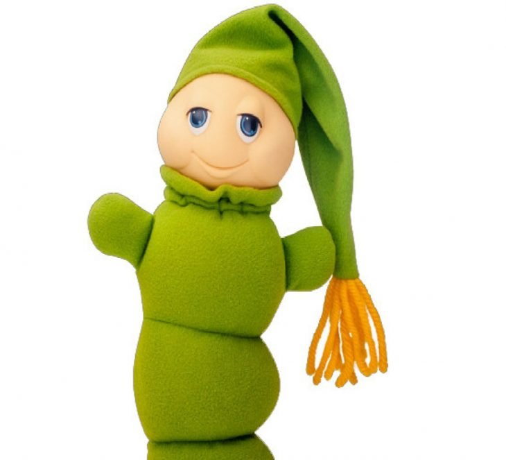 muñeco gusy gusano