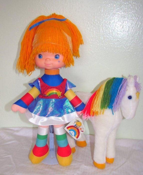 Muñeca Rainbow Brite y caballito