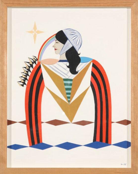 Murales de mujeres artistas callejeras; Clare Rojas