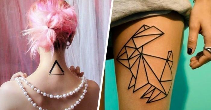 30 Tatuajes minimalistas para mujeres que vas a querer hacerte ahora mismo