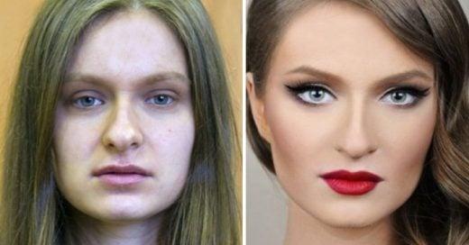 27 Fotos que demuestran el verdadero poder del maquillaje