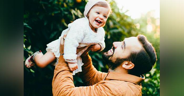 Los hombres piensan que ser papá sólo de niños es genial, pero están en un error