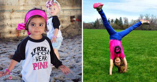 Estas mujeres estaban cansadas de la ropa para niñas estereotipada, así que decidieron hacer algo al respecto