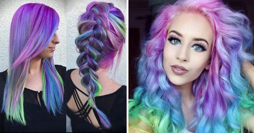 Las mujeres están coloreando su cabello como la tendencia 'Opal'. El resultado es alucinante