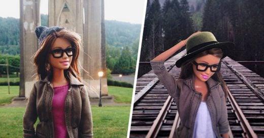 Ella es la Barbie hipster, y con sarcasmo se burla de las molestas publicaciones de Instagram