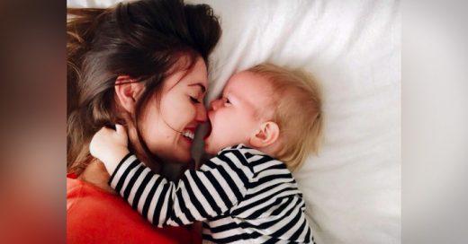 Esta madre da una respuesta muy conmovedora a la pregunta: ¿Cómo cambia la vida tras el embarazo?