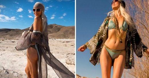 A los 59 años de edad, es una de las modelos más codiciadas de la industria de la moda