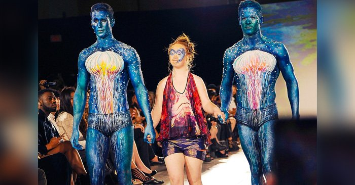 Madeline Stuart: la modelo con síndrome de Down que conquistó la semana de la moda en Nueva York