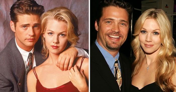"""Así es como lucen los actores de """"Beverly Hills 90210″ 25 años después"""
