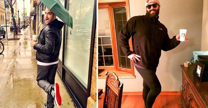 20 Divertidas fotos de hombres actuando como mujeres en Instagram