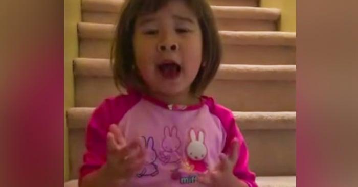 Los padres de esta niña habían tenido una discusión. Ella les dio la mejor lección de vida