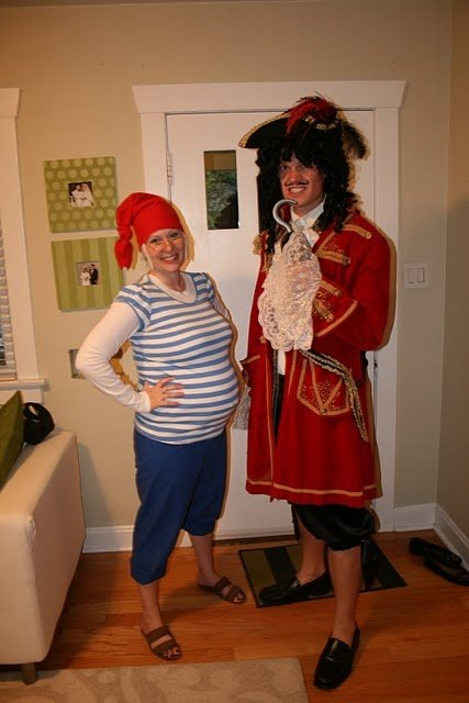 Disfraz de Capitán Garfio y Smee
