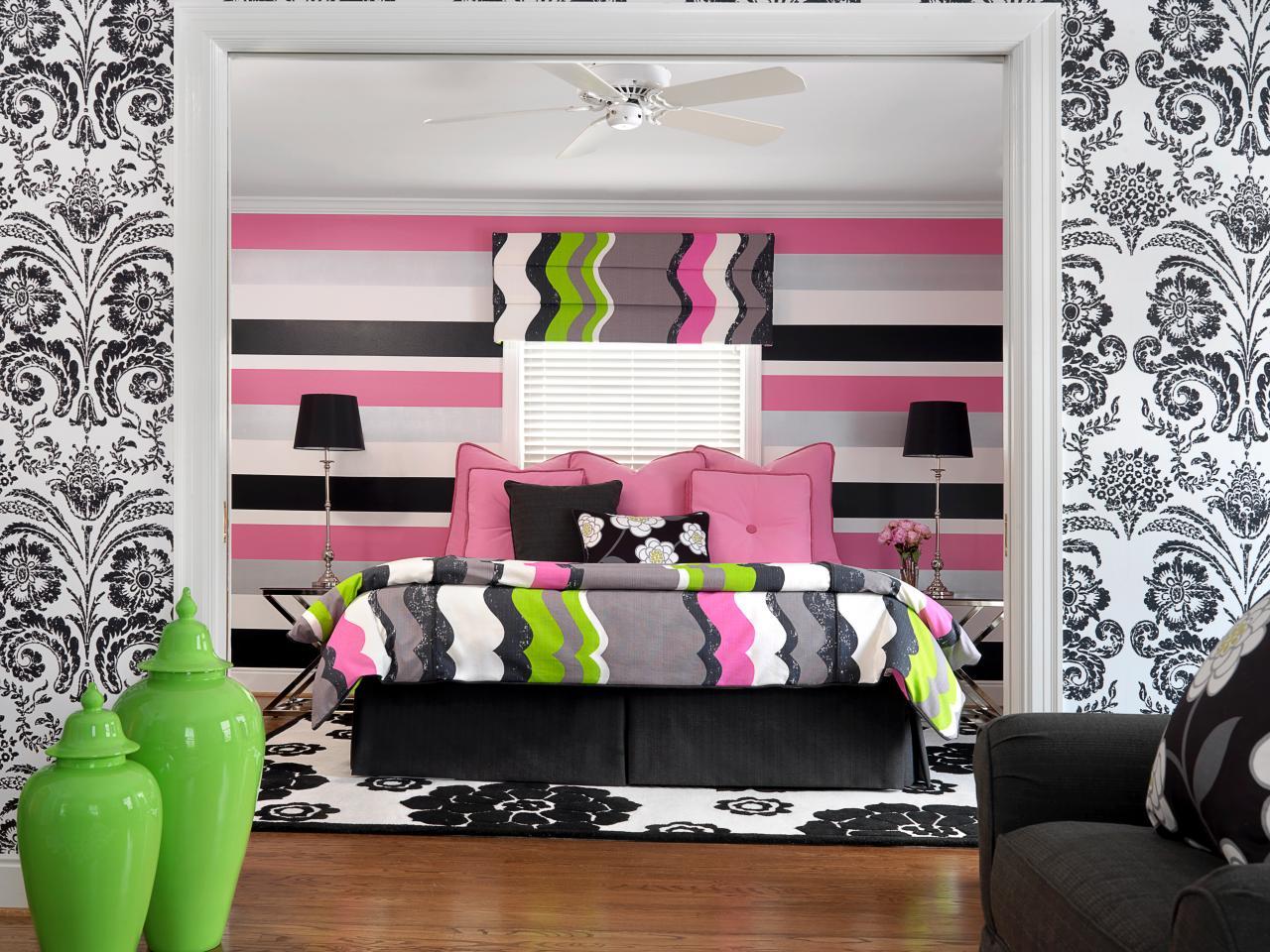 25 dise os que har n inspirarte para decorar tu habitaci n for Disenos para pintar paredes de habitaciones