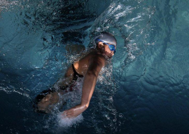 Qian nadando