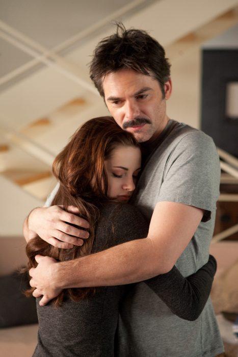 Escena de la película Crepúsculo: Amanecer parte 2