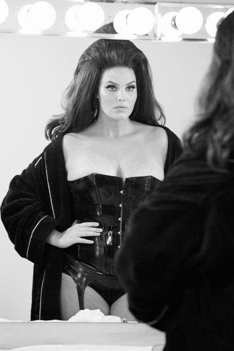 Modelo pluz size Candice Huffine