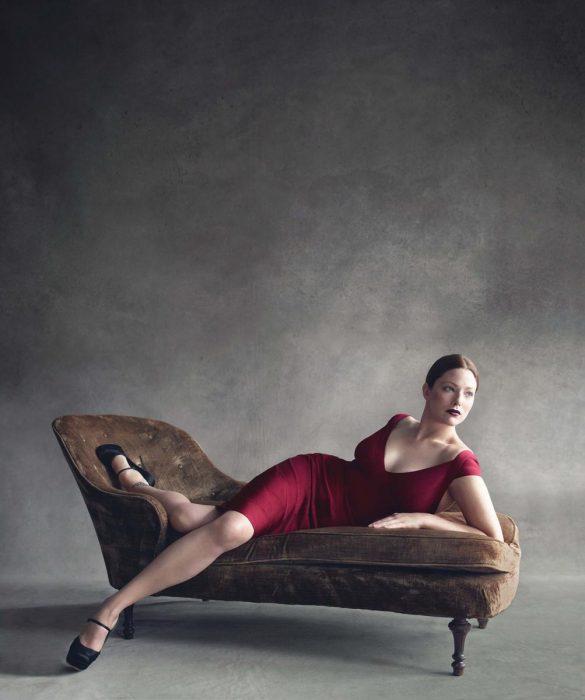 Modelo pluz size Kate Dillon