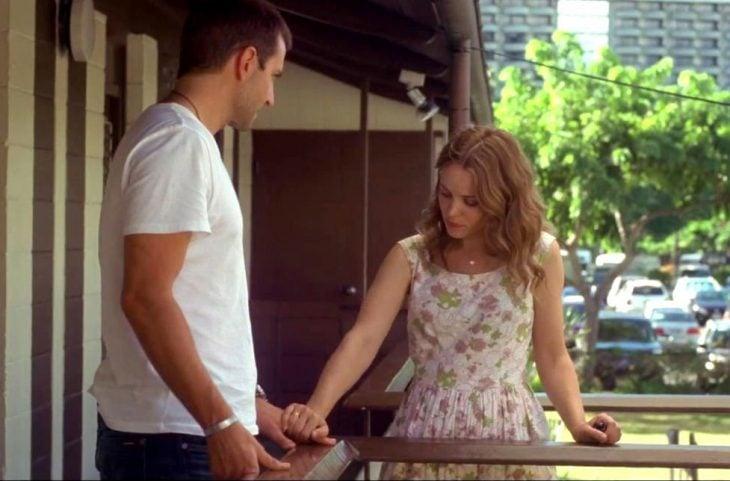 Escena de la película Aloha