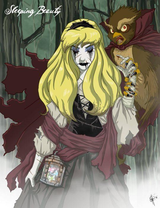 Princesas espeluznantes (3)