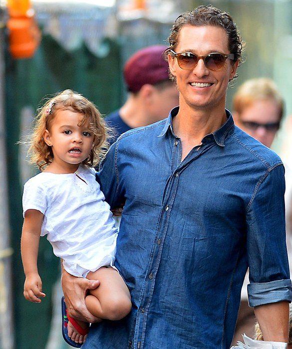 Matthew McConaughey y su hija