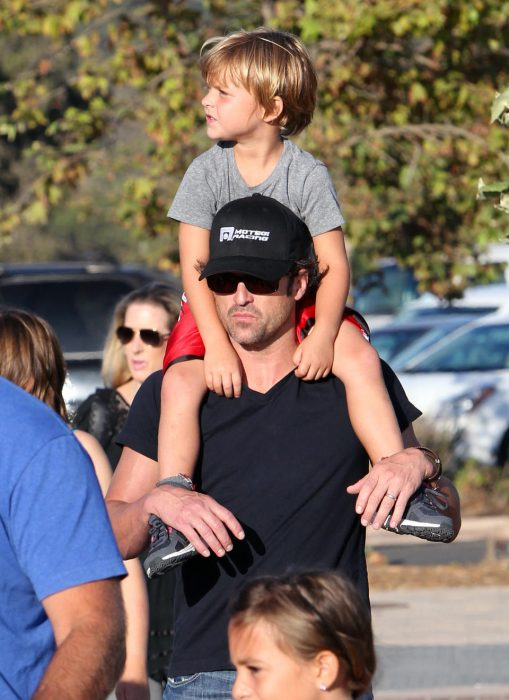 Patrick Dempsey e hijos