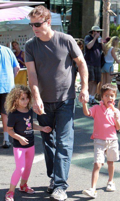 Chris Noth y su hijo