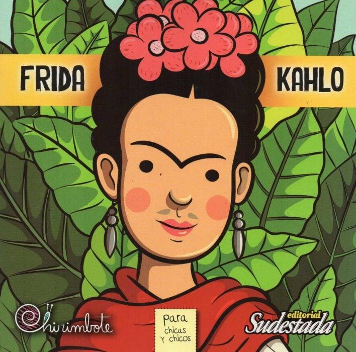 Portada Antiprincesas Frida Kahlo