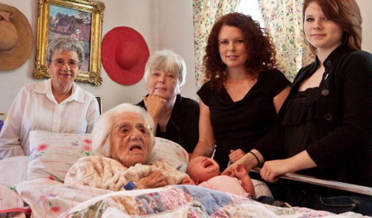 seis mujeres de seis generaciones