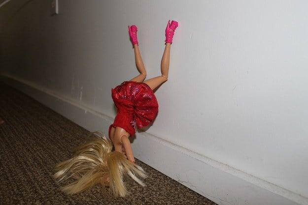 Barbie de cabeza