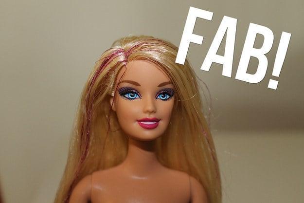 foto barbie peinada