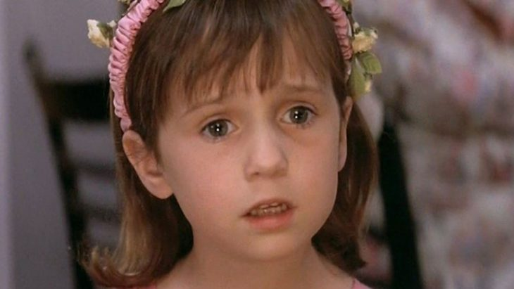 niña triste Matilda