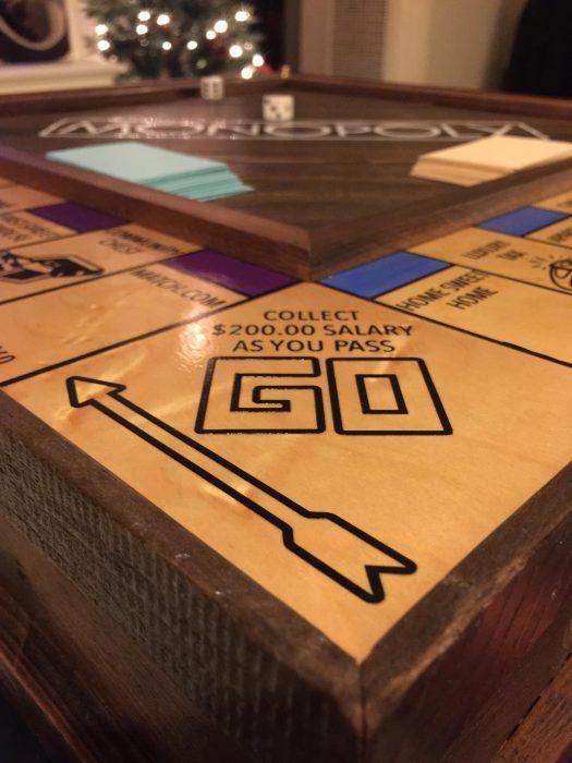 juego de Monopily hecho a mano