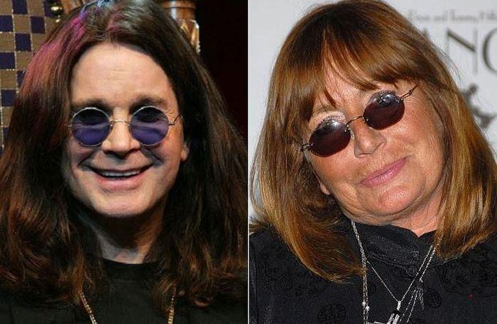 Ozzy Osbourne y Penny Marshall
