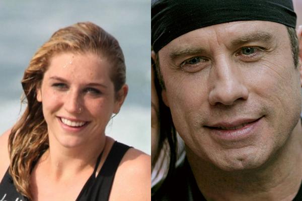 Kesha y John Travolta