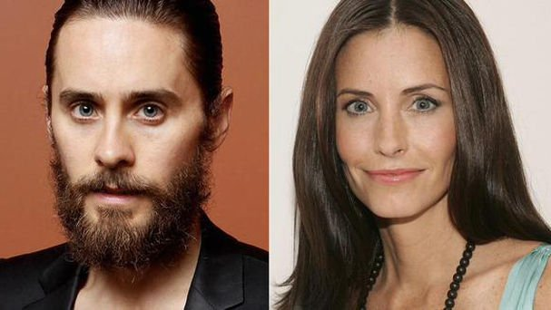 Jared Leto y Courtney Cox