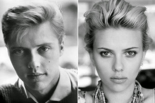 Christopher Walken y Scarlett Johansson