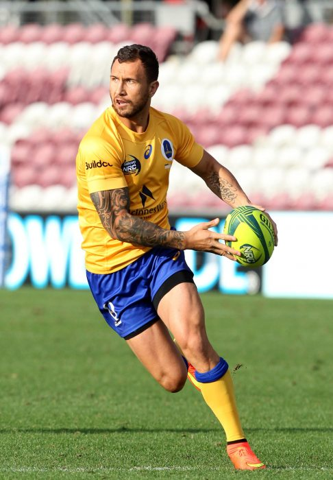 Quade Cooper rugby