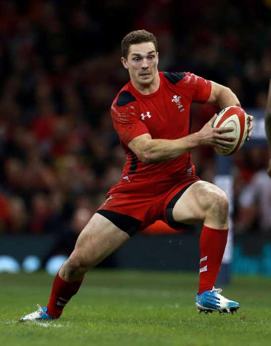 George North rugby