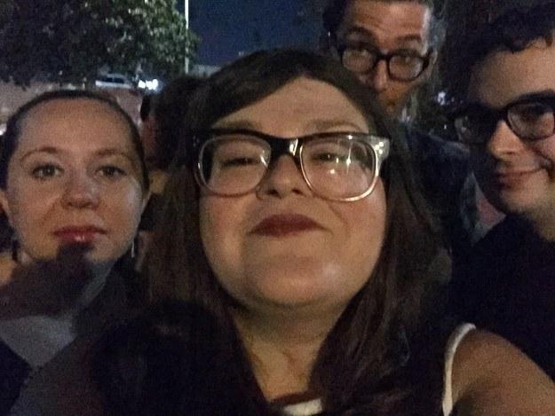 fotografía selfie grupo de amigos Kristin Chirico
