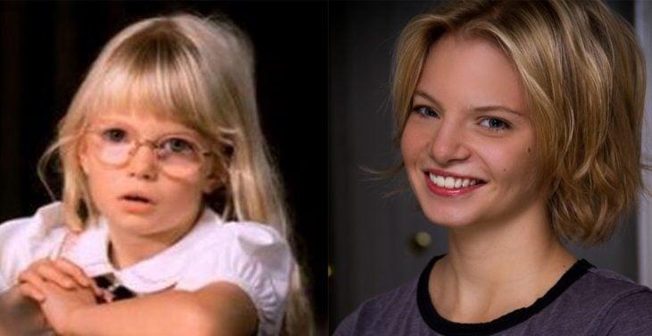 Amiga rubia de matilda antes y 19 años después