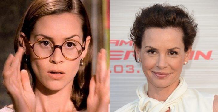Personaje de la señorita miel en la película de matilda y después en la película de spiderman