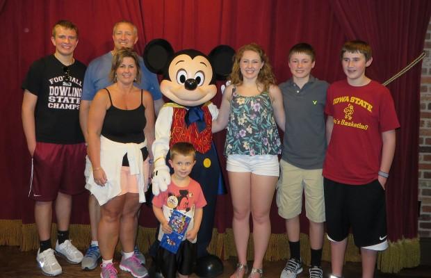 Viaje Wlat Disney familia Schmitz