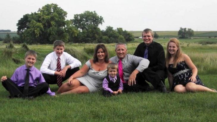 Familia Schmitz con Jane