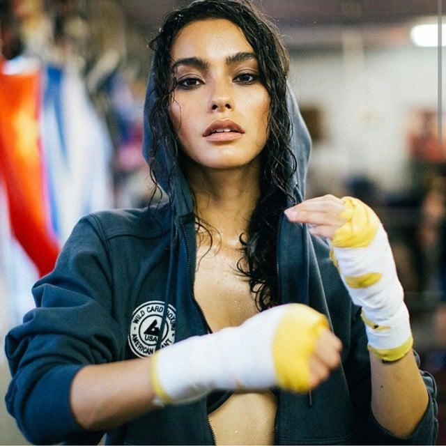 chica boxeadora