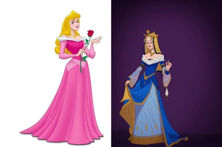 princesas Disney según época (3)