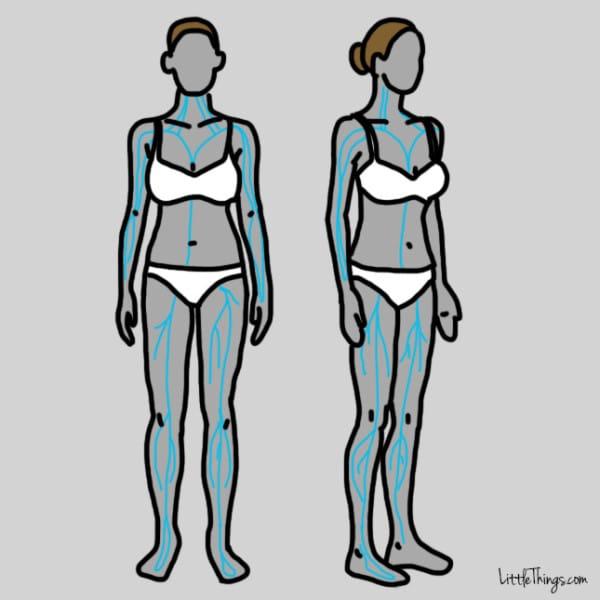 gráfico problemas de la tiroides presión alta