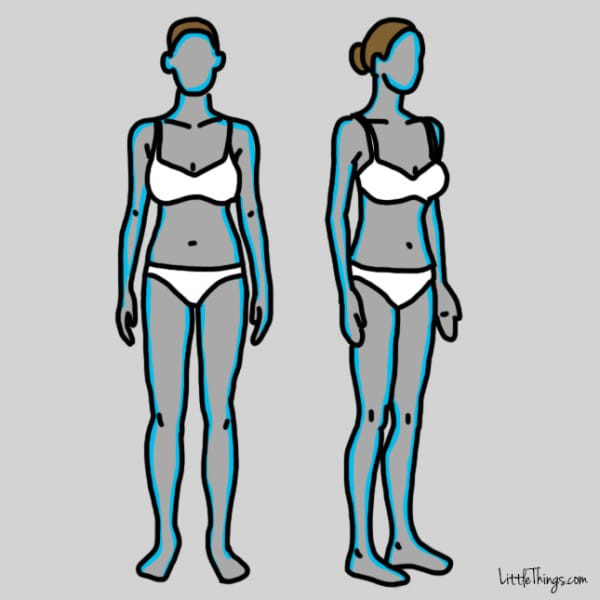 gráfico problemas con la tiroides piel seca y perdida cabello