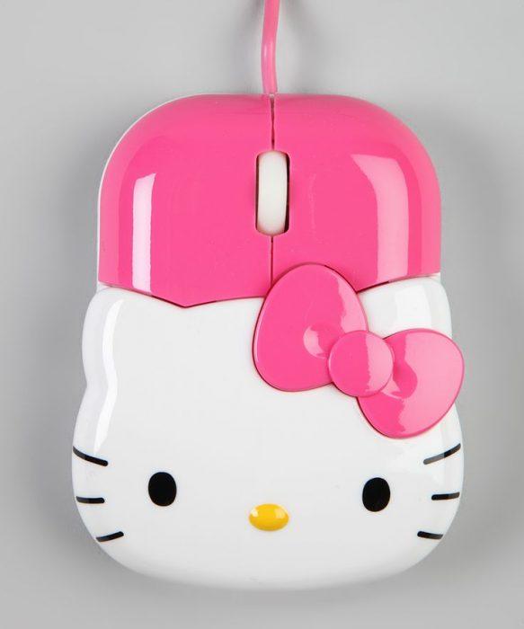 Ratón para computadora de Hello Kitty