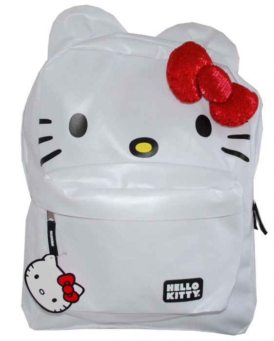 Mochila escolar de Hello Kitty
