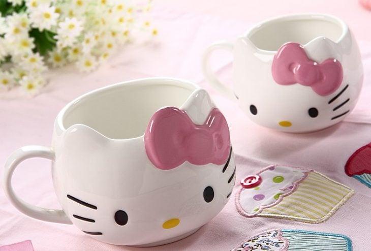Taza para café de Hello Kitty